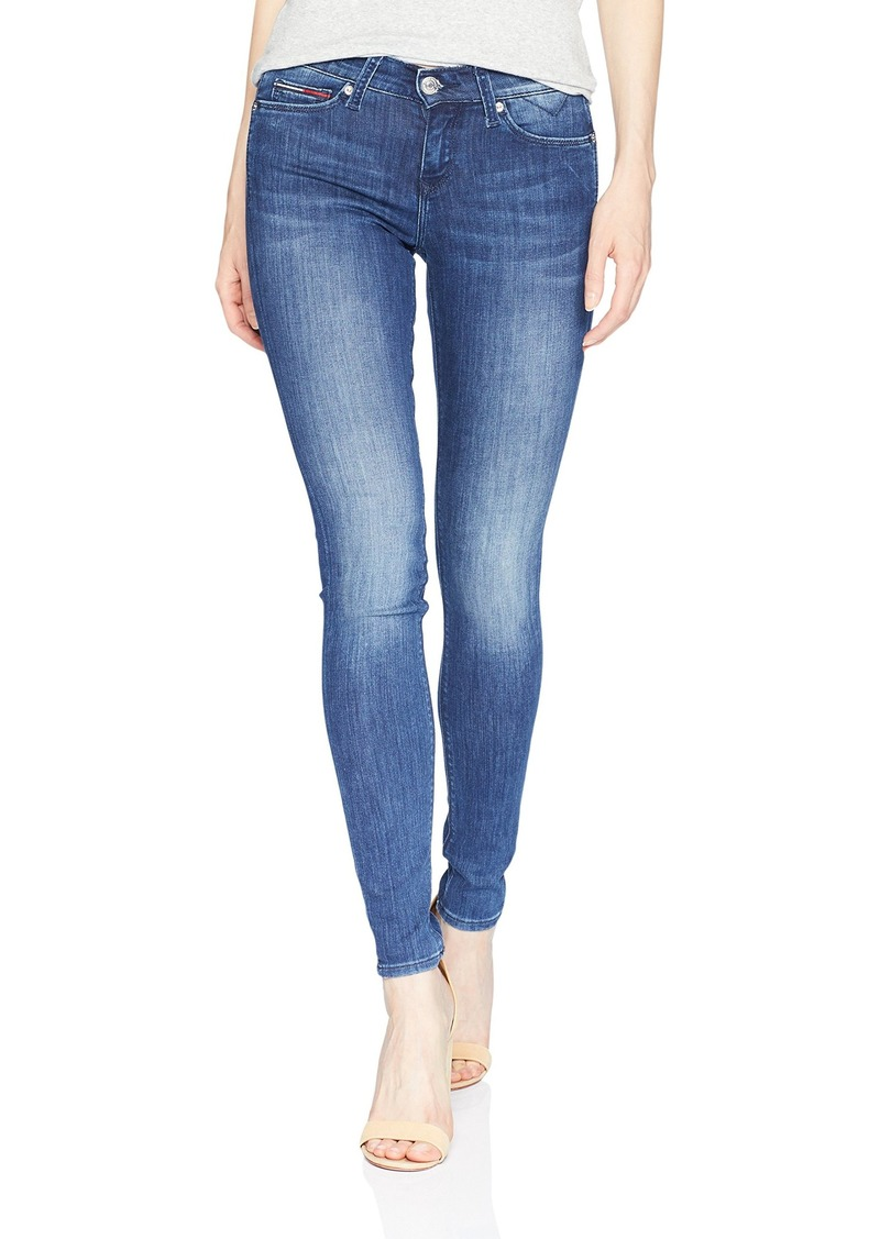 8e1cc9d5 Tommy Hilfiger Tommy Jeans Women's Skinny Nora Mid Rise Niceville Stretch