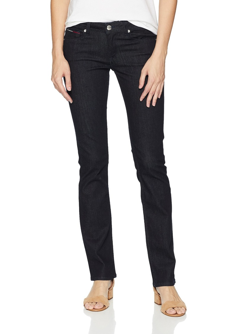 Tommy Hilfiger Tommy Jeans Women's Straight Leg Sandy Mid Rise Jeans  26X34