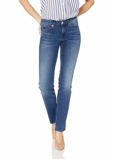Tommy Hilfiger Women's Straight Leg Sandy Mid Rise Jeans Niceville Stretch 29X30