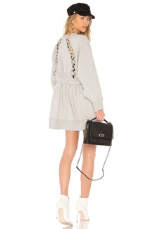 Tommy Hilfiger TOMMY X GIGI Gigi Hadid Open Back LS Sweatshirt Dress