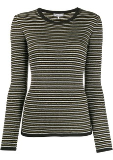 Tommy Hilfiger x Zendaya glittery stripe knitted top