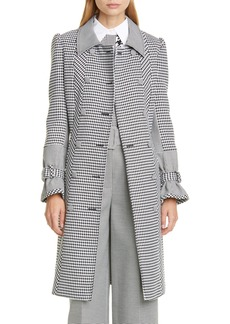 Tommy Hilfiger Tommy x Zendaya Houndstooth Trench Coat (Nordstrom Exclusive)