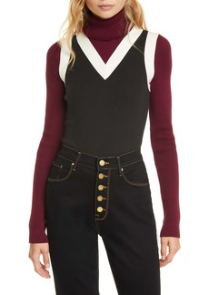 Tommy Hilfiger Tommy x Zendaya Layered Turtleneck Sweater (Nordstrom Exclusive)