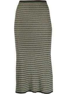 Tommy Hilfiger x Zendaya stripped knitted skirt