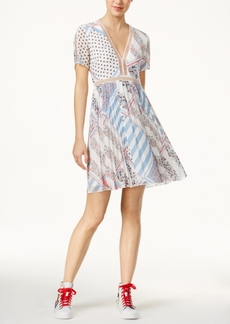 Tommyxgigi Silk Printed A-Line Dress