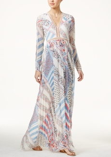 Tommyxgigi Silk Printed Maxi Dress