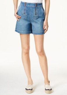 Tommy Hilfiger Tommyxgigi Star-Trim Denim Shorts