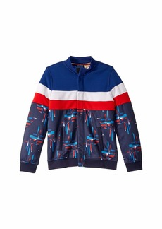 Tommy Hilfiger Track Jacket with Magnetic Buttons (Little Kids/Big Kids)