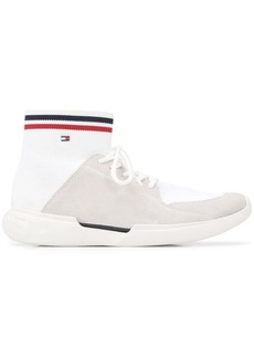 Tommy Hilfiger tri-stripe sock sneakers