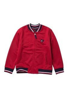 Tommy Hilfiger Tricot Bomber Jacket (Big Girls)