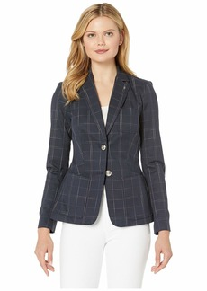 Tommy Hilfiger Two-Button Window Pant Jacket