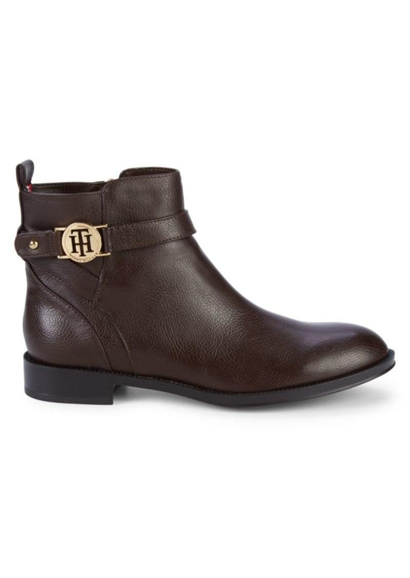 Tommy Hilfiger Twrumore Logo Strap Boots