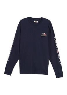 Tommy Hilfiger USA Mountain Log Long Sleeve T-Shirt