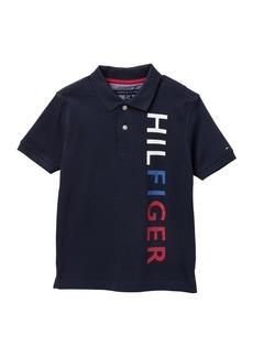 Tommy Hilfiger Vertical Logo Polo Shirt (Big Boys)