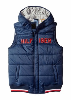 Tommy Hilfiger Vest with Hood and Magnetic Buttons (Little Kids/Big Kids)
