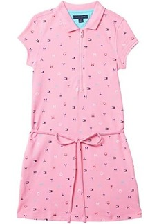 Tommy Hilfiger Victoria Polo Dress with Zipper Closure at Front (Toddler/Little Kids/Big Kids)