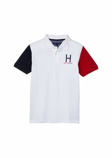Tommy Hilfiger Vince Color Block Short Sleeve Polo (Big Kids)