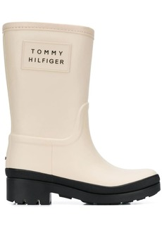 Tommy Hilfiger warm lined short rain boots