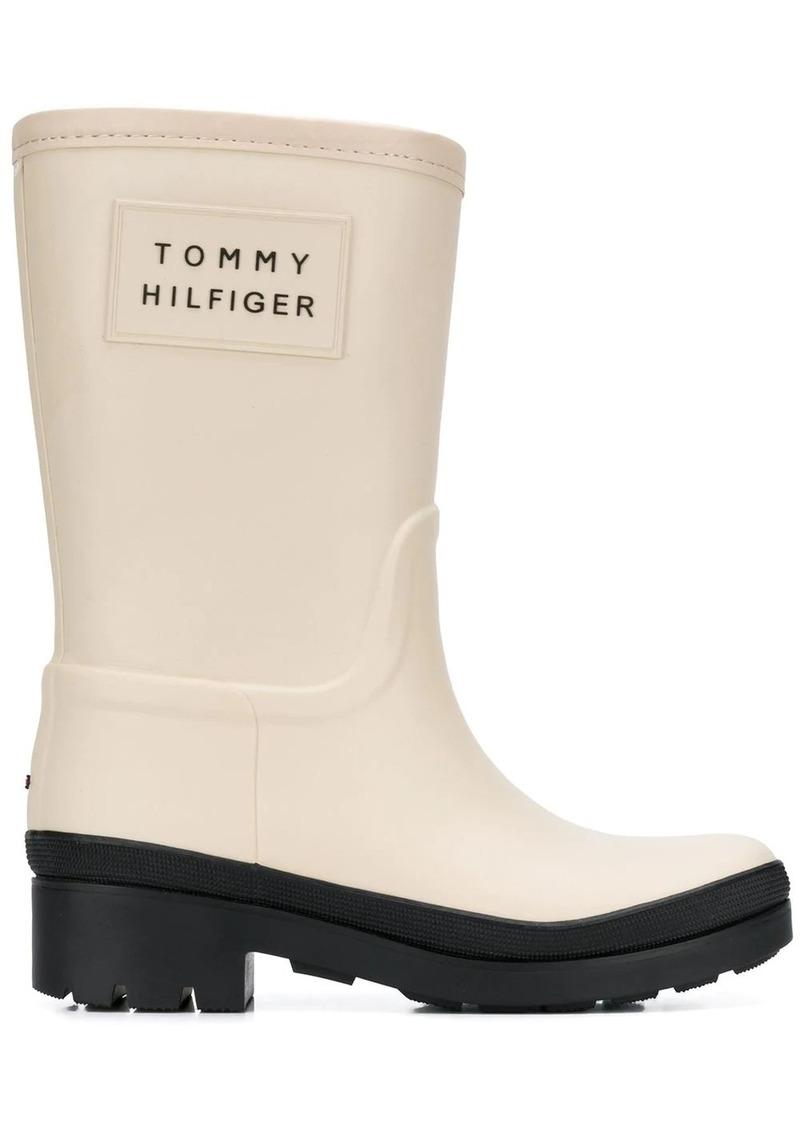 Tommy Hilfiger warm lined short rain boots