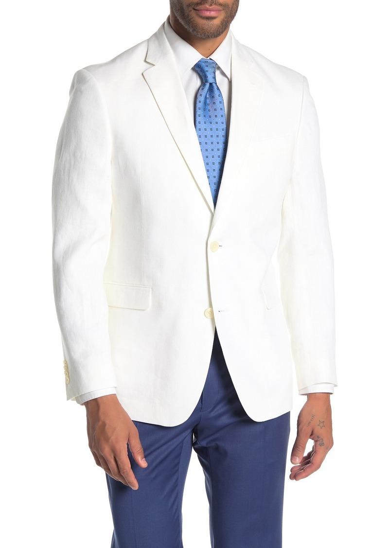Tommy Hilfiger Whiten Linen Suit Separate Jacket