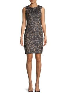 Tommy Hilfiger Wild-Print Sheath Dress