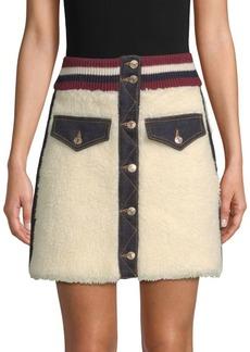 Tommy Hilfiger Winter Denim Mini Skirt