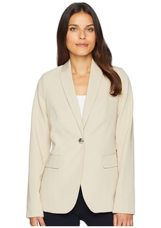 Tommy Hilfiger Woven Button Front Jacket
