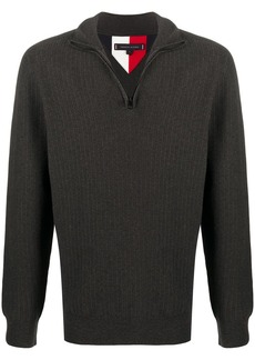 Tommy Hilfiger zipped turtle-neck sweatshirt
