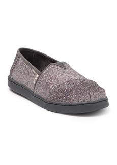 Toms Alpargata Glitter Slip-On Sneaker (Toddler, Little Kid, & Big Kid)