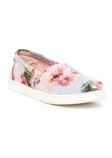 Toms Alpargata Graphic Floral Slip-On Sneaker (Toddler, Little Kid & Big Kid)