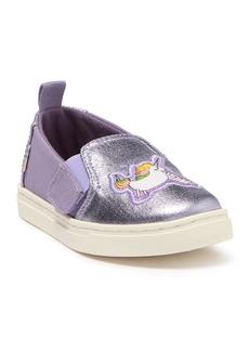 Toms Luca Foiled Slip-On Sneaker (Baby & Toddler)