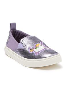 Toms Luca Foiled Slip-On Sneaker (Little Kid & Big Kid)