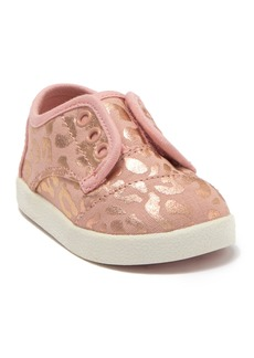Toms Paseo Leopard Laceless Sneaker (Baby & Toddler)