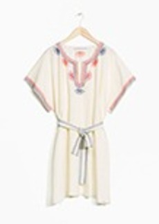 TOMS Shoes & Other Stories Embroidered Dress