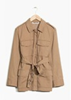 TOMS Shoes & Other Stories Military Jacket