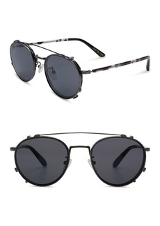 TOMS Shoes 47mm Hynes Bowery Sunglasses