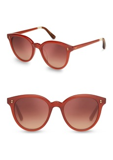 TOMS Shoes 50mm Aaryn Round Sunglasses