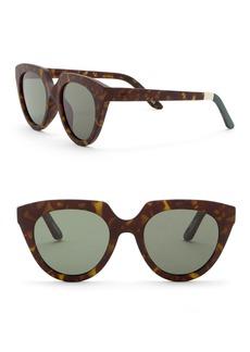 TOMS Shoes 50mm Traveler Lourdes Sunglasses
