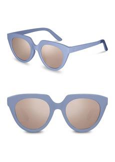 TOMS Shoes 51mm Lourdes Cat Eye Sunglasses