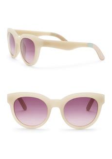 TOMS Shoes 52mm Traveler Florentin Cat Eye Sunglasses