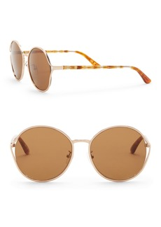 TOMS Shoes 58mm Blythe Round Sunglasses