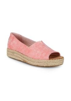 TOMS Shoes Alpaop Slip-On Espadrilles