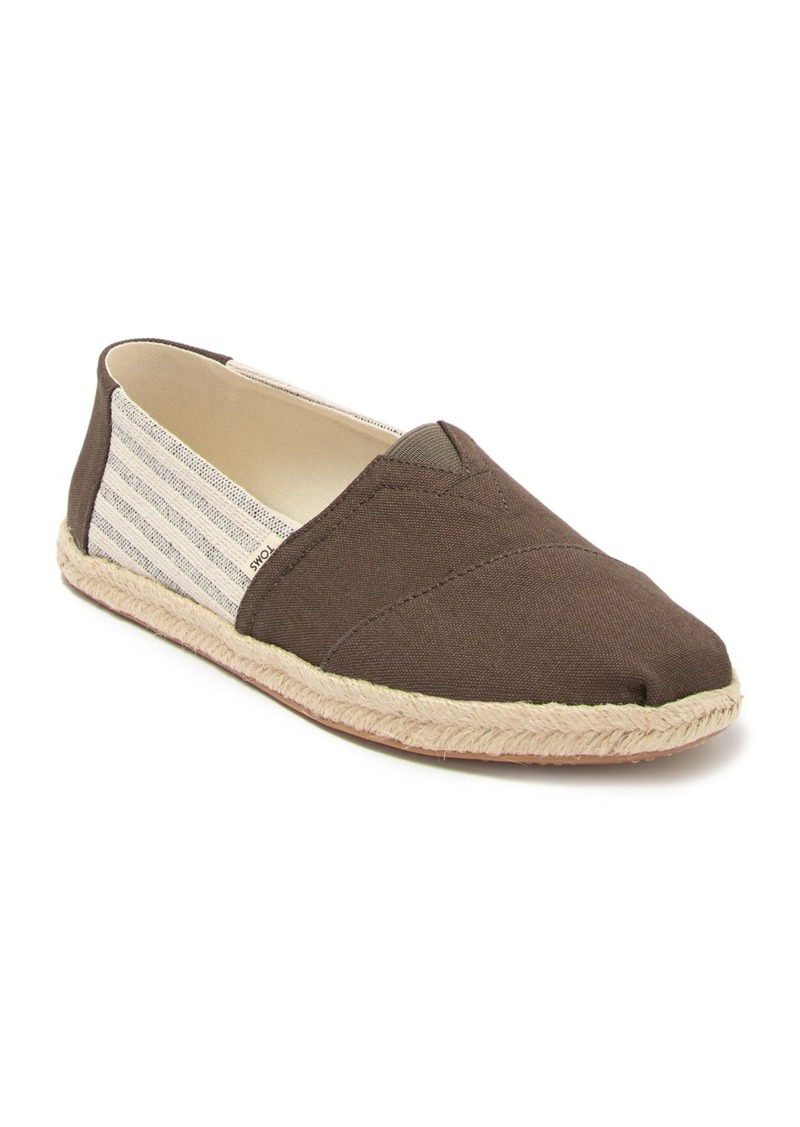 TOMS Shoes Alpargata Slip-On Shoe