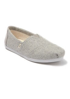 TOMS Shoes Alpargata Faux Shearling Lined Slip-On Sneaker
