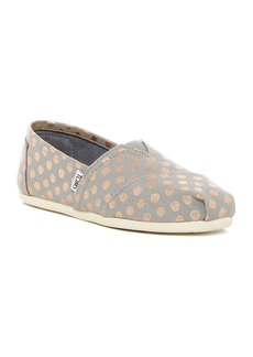 TOMS Shoes Polka Dot Alpargata Slip-On Shoe