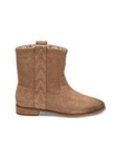 TOMS Shoes Amphora Burnished Suede Women's Laurel Boots