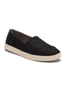 TOMS Shoes Avalon Black Nylon Slip-On Sneaker