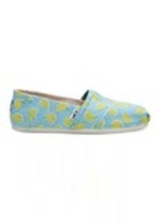 TOMS Shoes Bananas Women's Classics