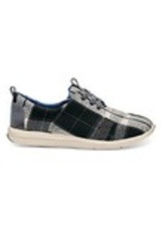 Black and White Plaid Women's Del Rey Sneakers