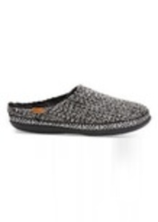 TOMS Shoes Black and White Sweater Knit Women's Ivy Slippers